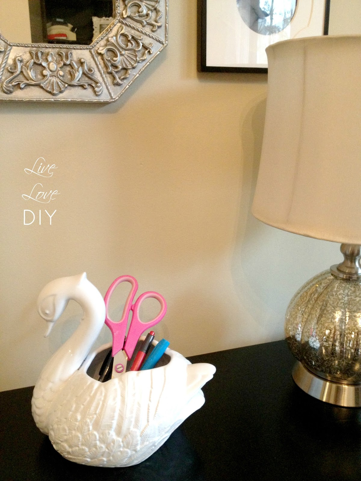 LiveLoveDIY: How To Spray Paint A File Cabinet (and The Occasional Ceramic  Duck)