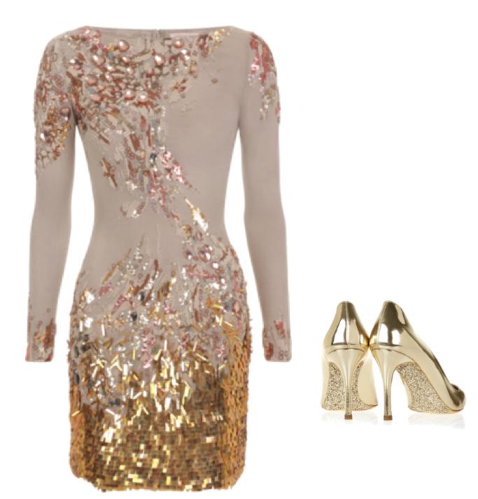 Un vestido que define la silueta