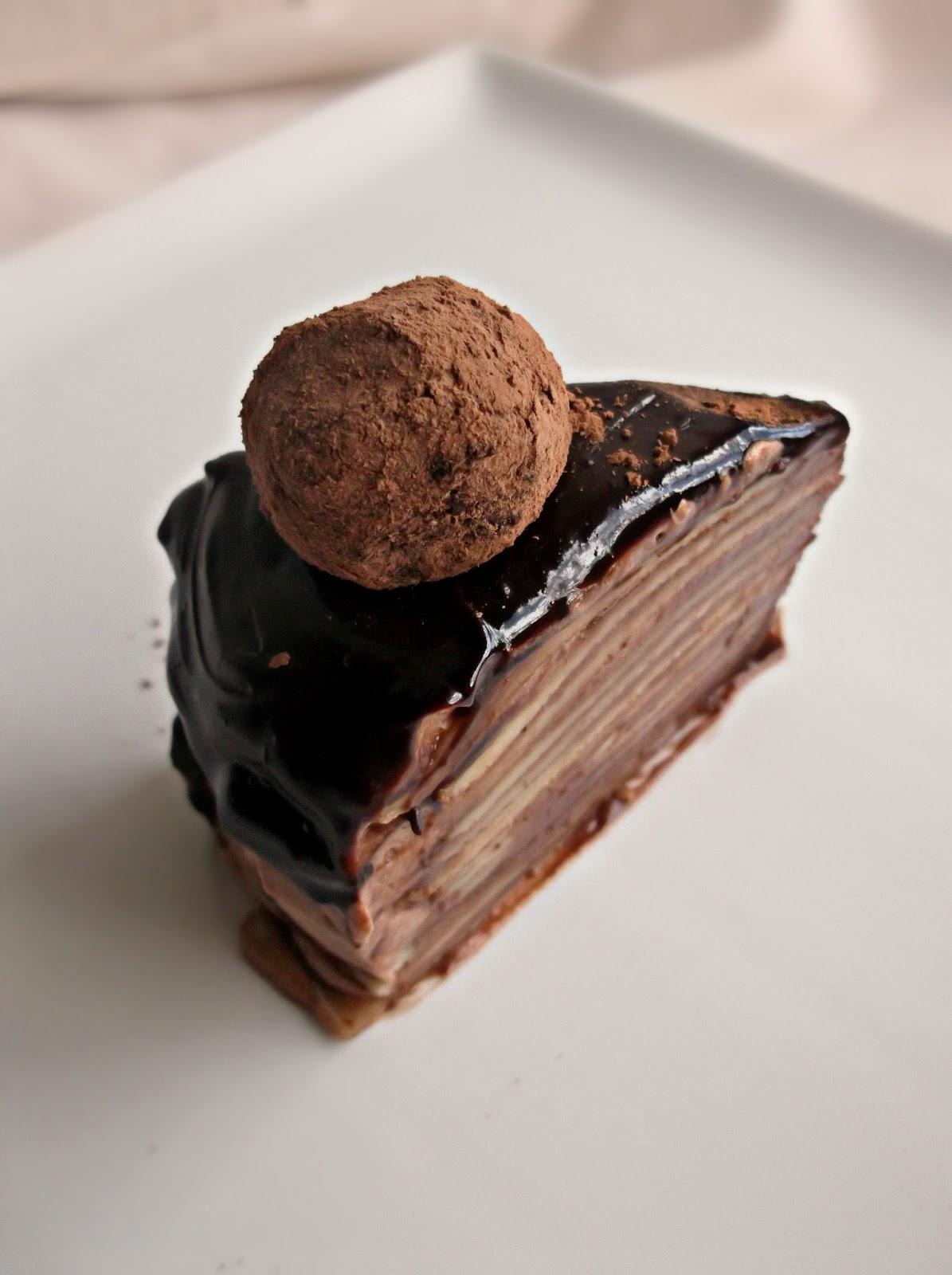 Chocolate Orange Cointreau Cake