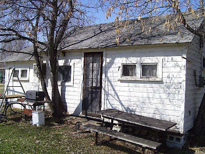 Our cabin in 2008