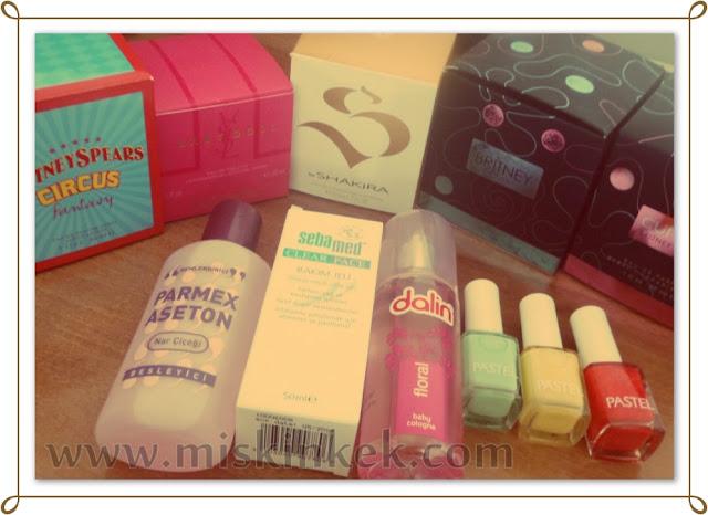 Parfüm ve Oje Alışverişim
