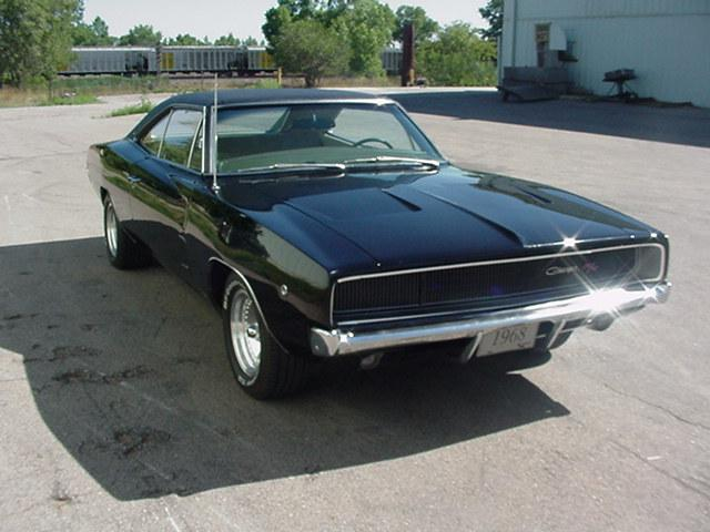 Sports Cars 68 Dodge Charger