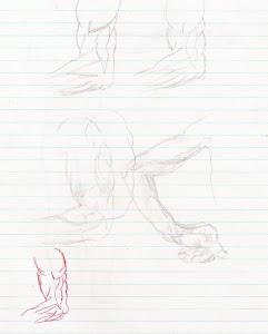 Ian Parker Sketch - 14 years