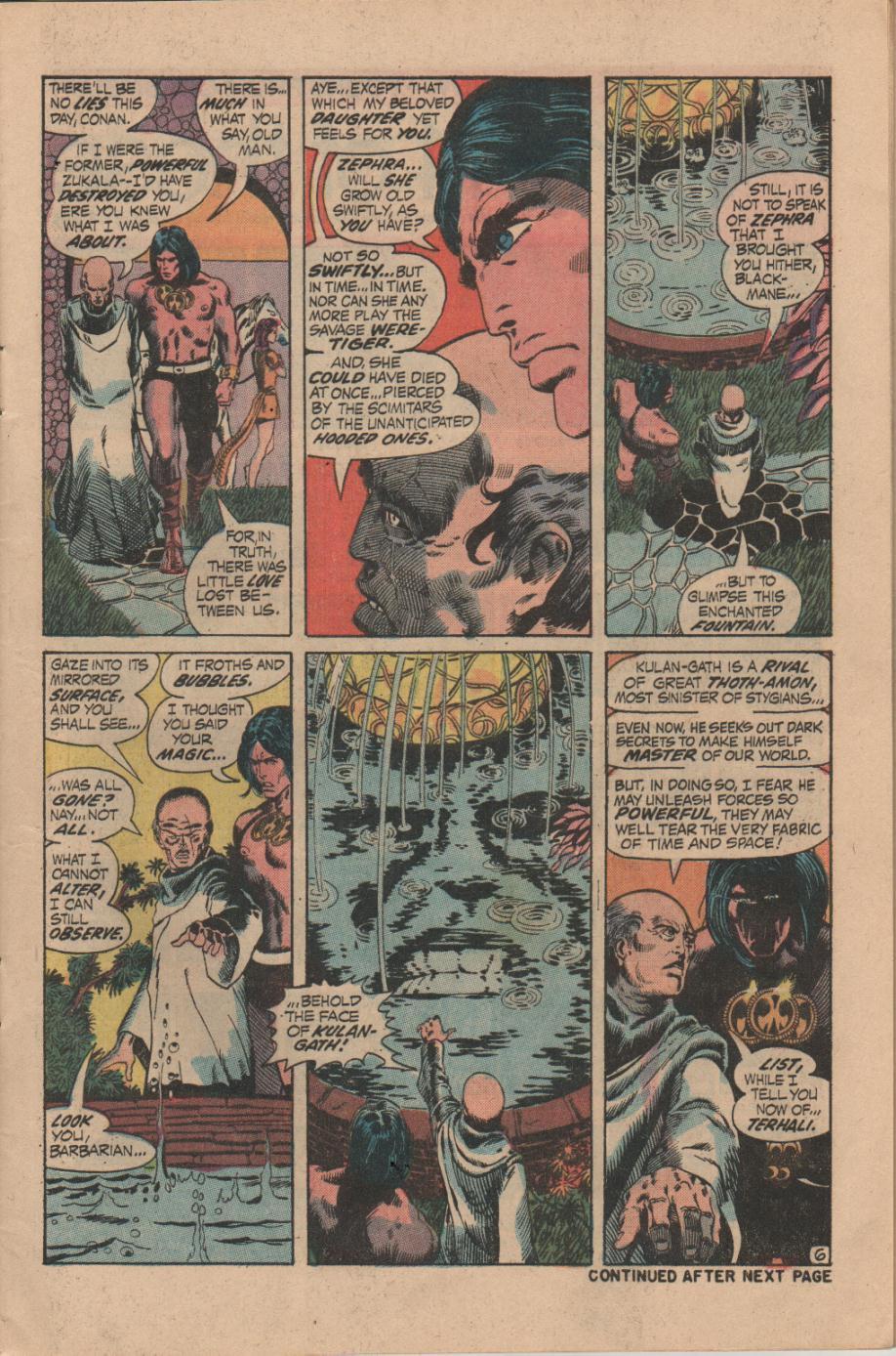 Conan the Barbarian (1970) Issue #14 #26 - English 7