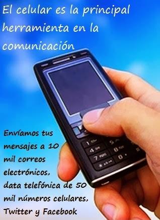 El celular es en los actuales momentos la principal herramienta en la comunicación