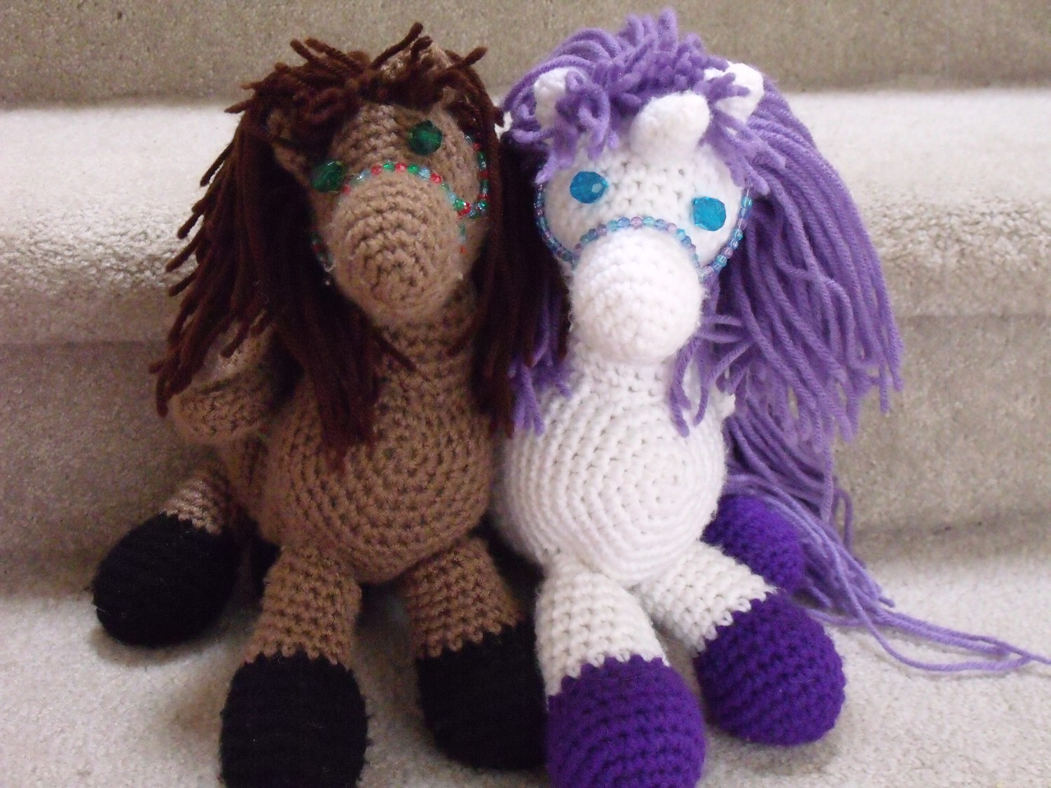 Amigurumi Horse Ears : Clever crafty cookin mama adorable horse purse pattern