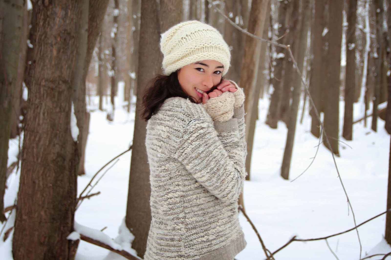 winter wonderland, snow, style blogger