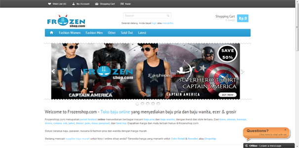 fashion, polisi online