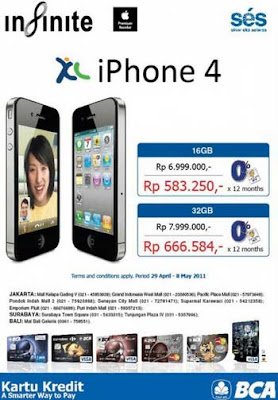 Beli iPhone 4 XL BCA