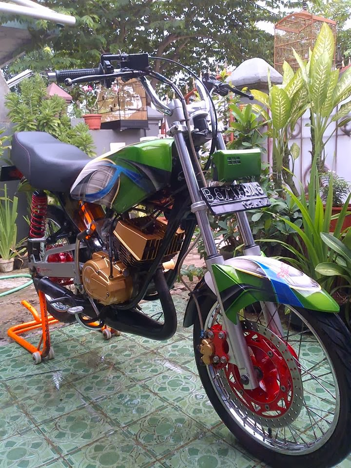referensi modifikasi lampu depan motor rx king