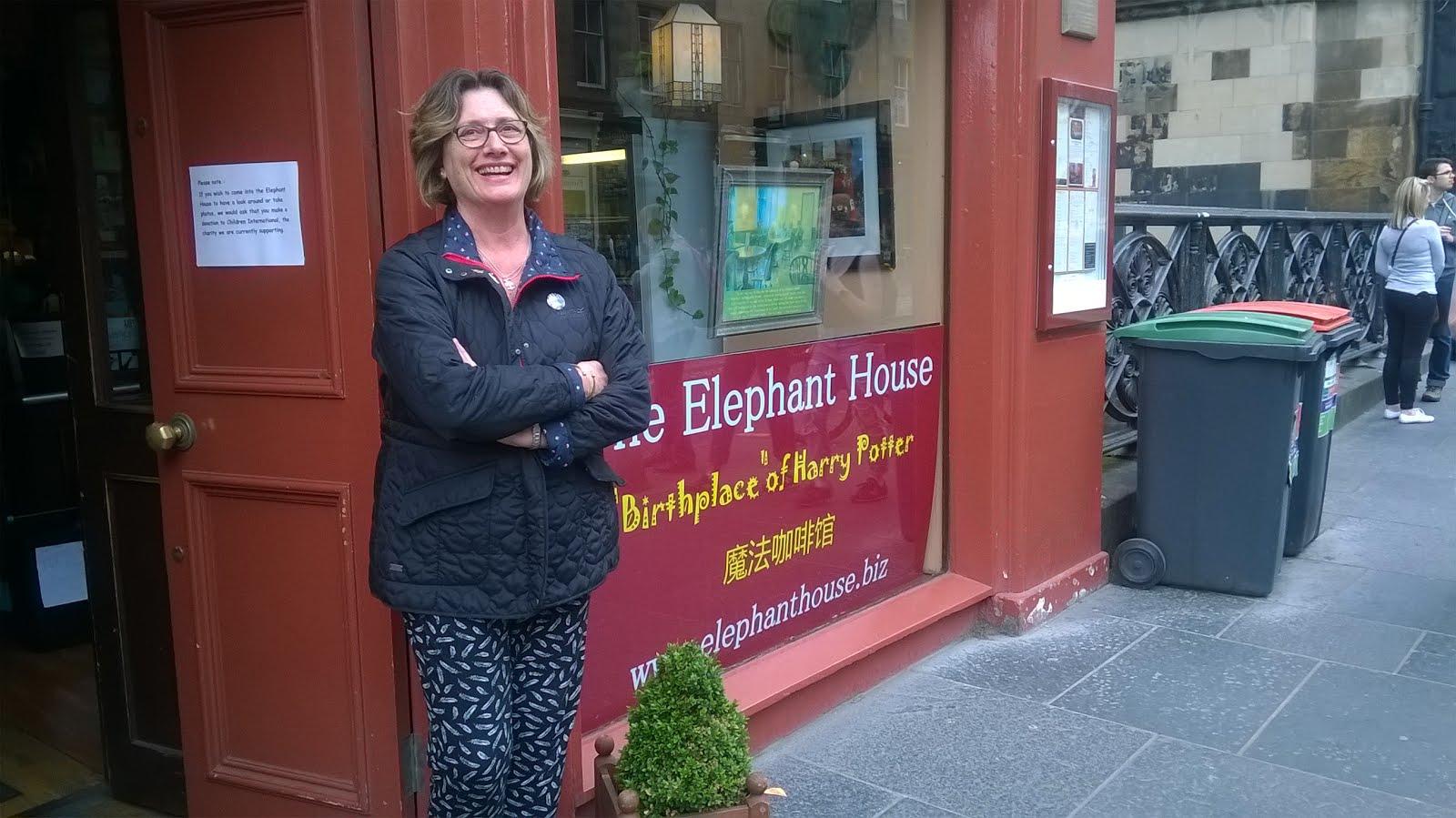 La casa del elefante (Edimburgo-Escocia)