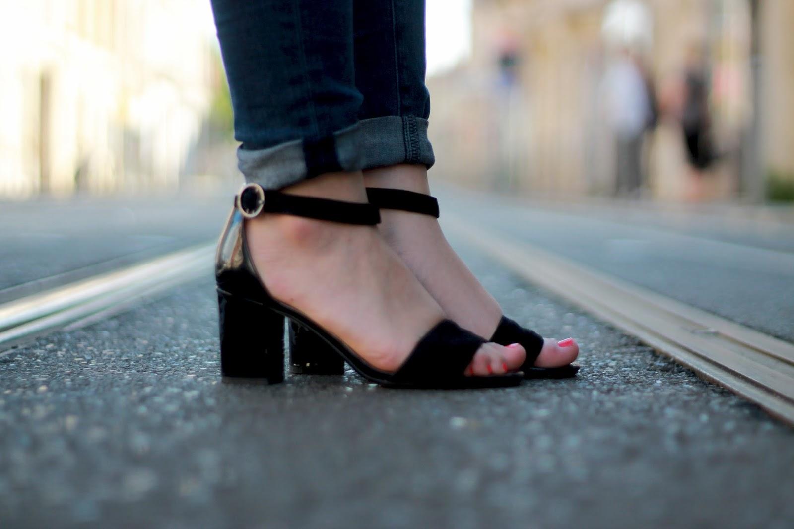 Sandales Clarks noires