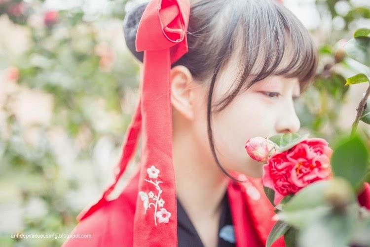 Thiếu nữ Hàn Quốc xinh đẹp với mùa xuân 8
