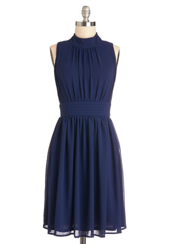 Beautiful Navy Blue Dress