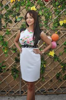 Actress Lakshmi Manchu Pictures in Short Dress at Dongata Movie Logo Launch  11