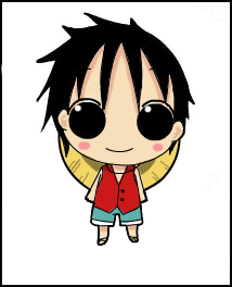 Unclickable Luffy image