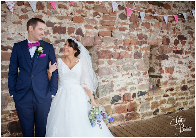 bride and groom, high house farm brewery, northumberland wedding, farm wedding, quirky wedding, alternative wedding photography, high house farm, brewery wedding, matfen brewery, matfen wedding, yap bridal boutique, wildflowers, katie byram photography, floral wedding, vintage wedding