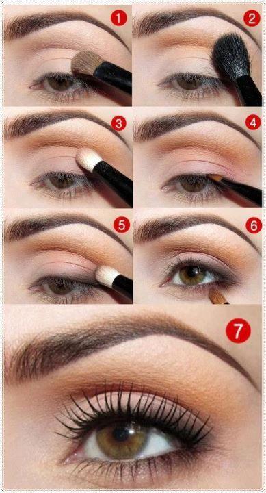 Простые макияжи на каждый день