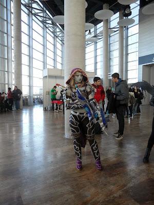 Increible disfraz en el XII Salón del Manga de Valencia
