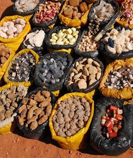 semillas medicina tradicional África