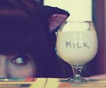 Hora do leitinho =^.^=miauuu