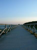 Fossalon frazione di Grado in Friuli - Passeggiata lungo mare