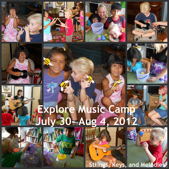 Another Fun Week of Music Camp photo