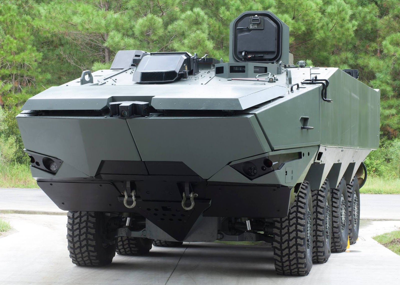 Terrex 2 Wheeled Armoured Vehicle