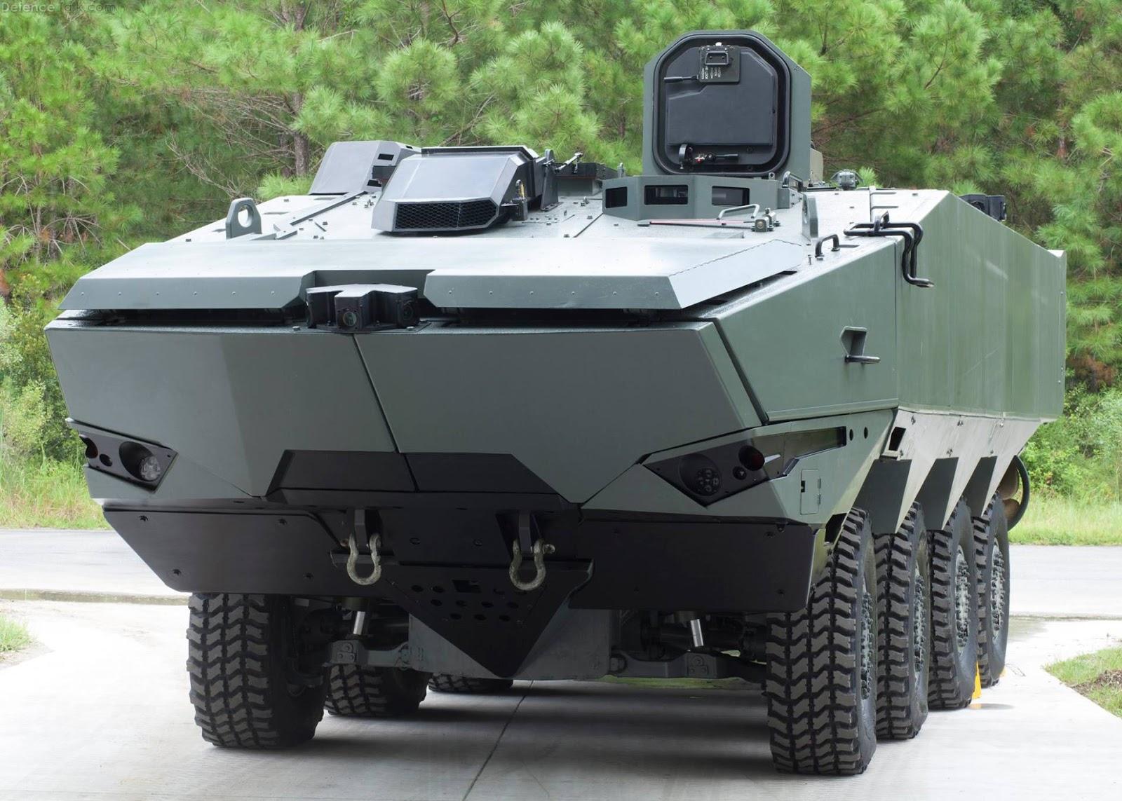 Terrex 2 Wheeled Armoured Vehicle