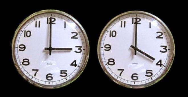 Αλλάζει η ώρα την Κυριακή!