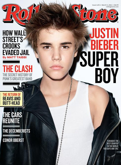 justin bieber love magazine cover. Justin Bieber covers Rolling