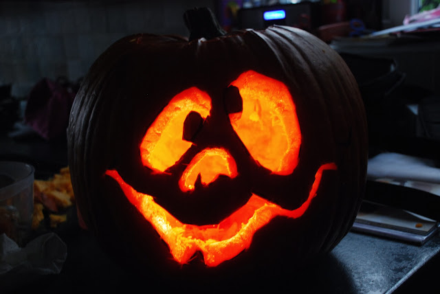 image of carved pumpkin