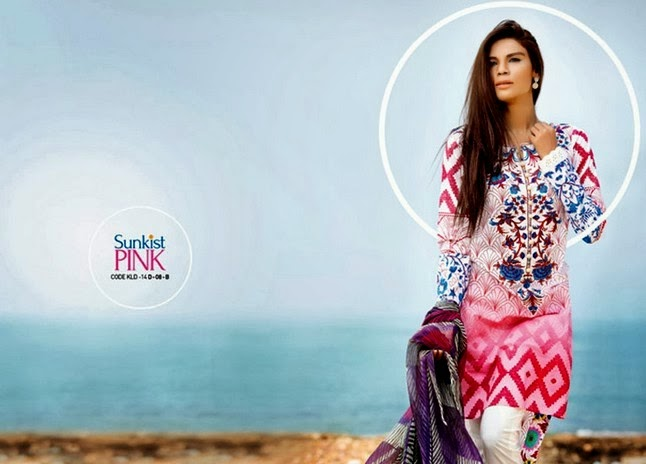 Kamal Lawn Collection by Zara Shahjahan 2014-2015