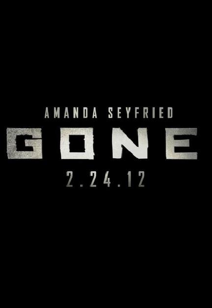 Gone Poster 2012