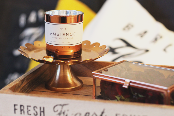 H&M home ambience candle