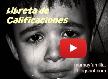 Video de reflexión sobre un padre y la boleta de calificación de su hijo, reflexiones de familia en video