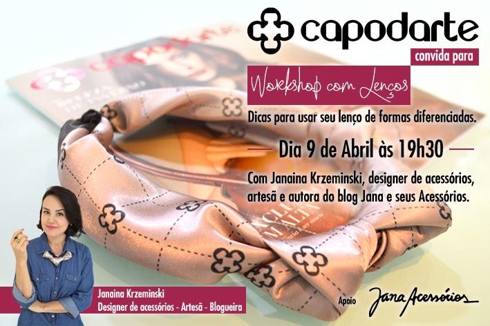 Blog da Jana, blog de acessórios, Joinville, convite, Lenços, blogueira, dicas