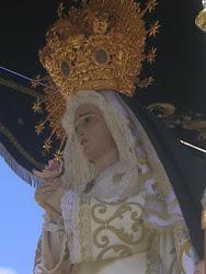 Ntra Sra de la Soledad. de luto, Calzada de Calatrava
