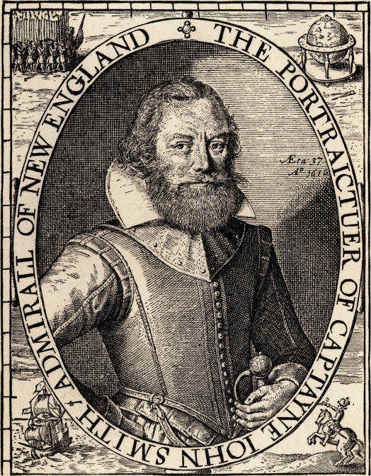 the adventures of john smith in american history Published for the institute of early american history and culture the complete works of captain john smith (1580 smith's adventures.