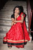 Sowmya glamorous half saree photos-thumbnail-9