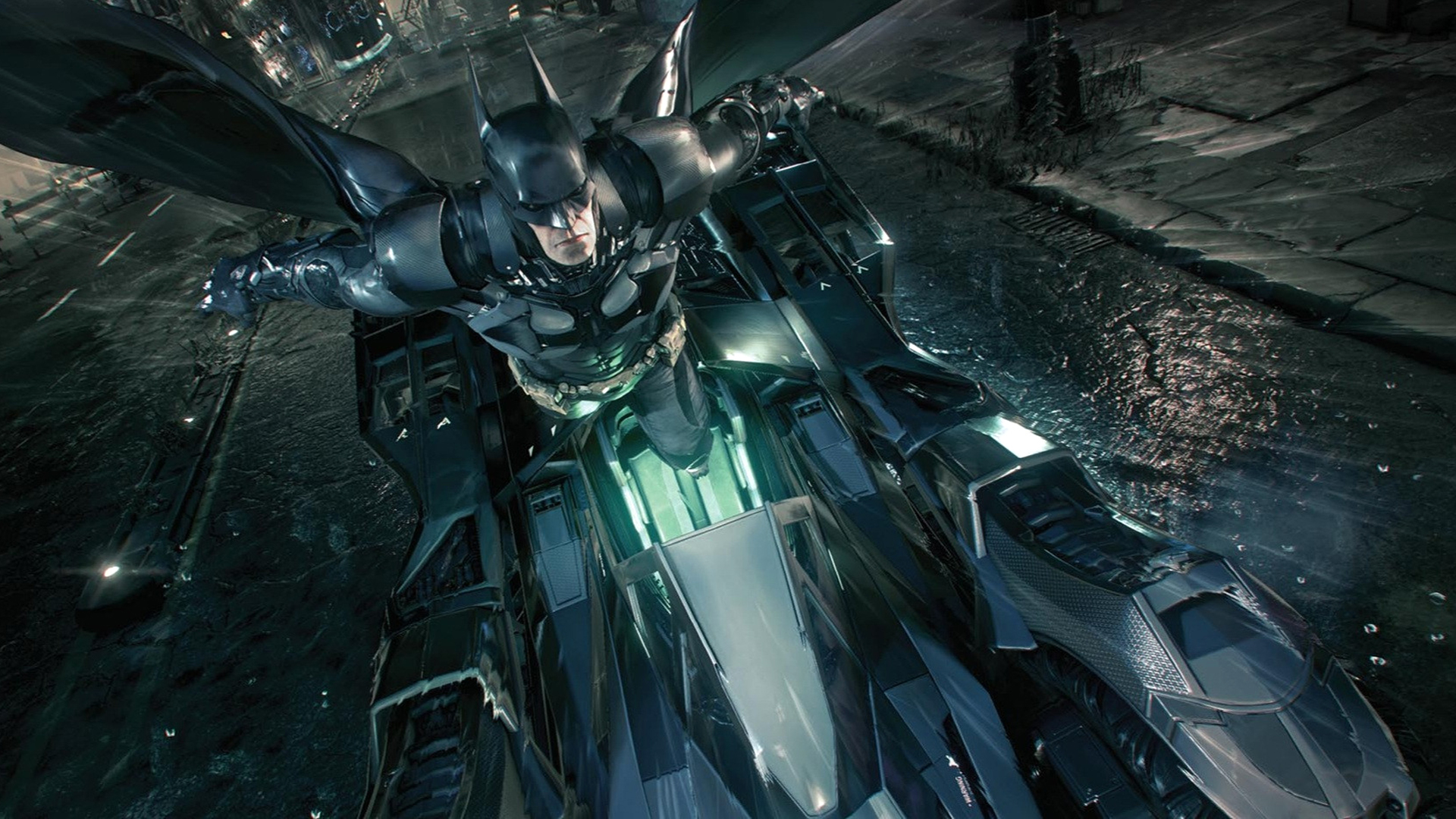 New Batmobile Batman Arkham Knight Game Hd