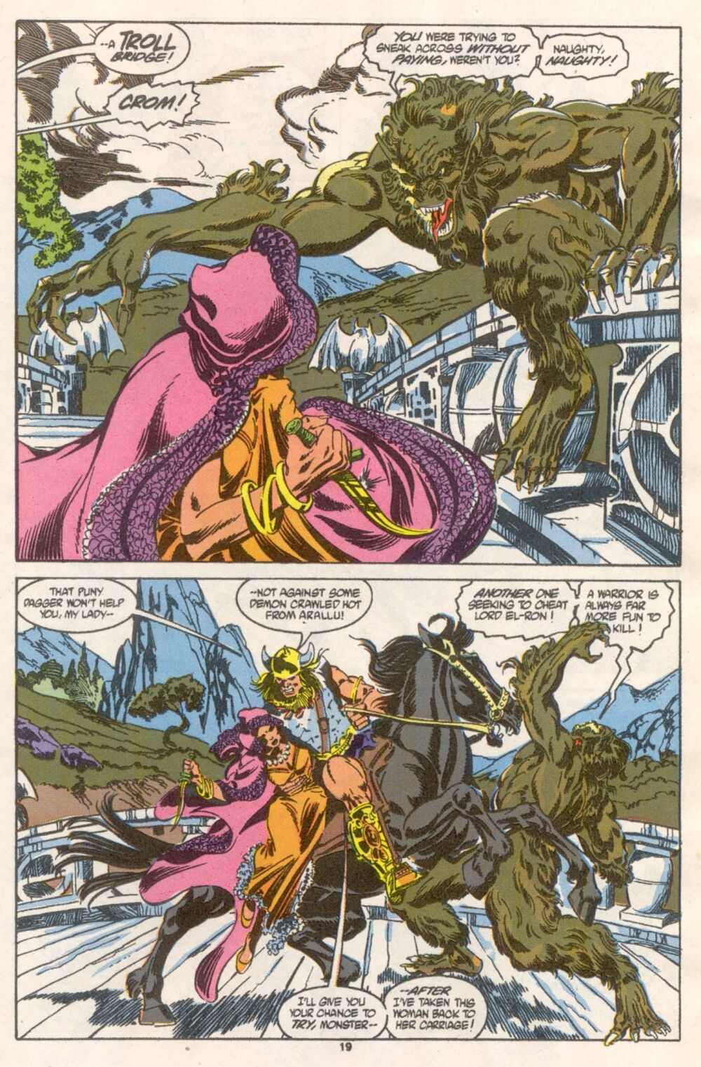 Conan the Barbarian (1970) Issue #241 #253 - English 16