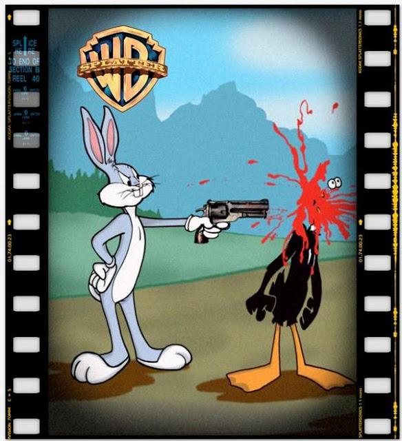 ворнер бразерс, страшные мультфильмы