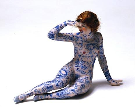 Dr Lakra porcelain figure