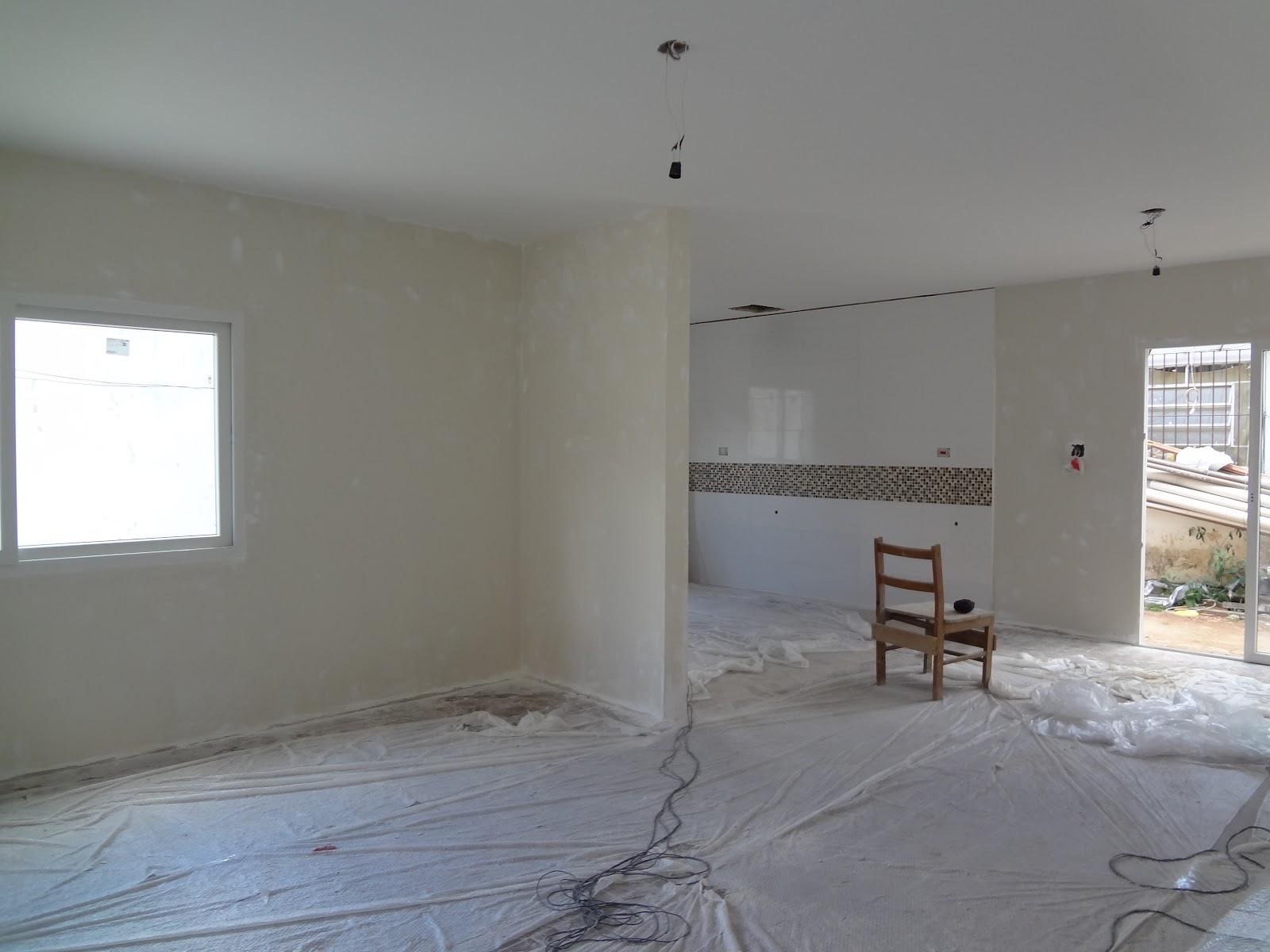 Detalhe do piso da sala.. imitando madeira  #50637B 1600x1200
