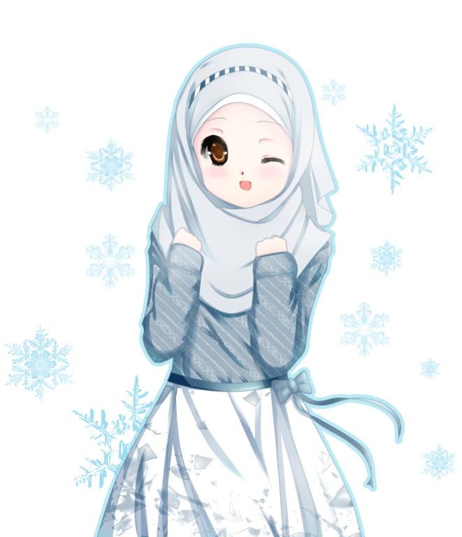 Pictures Of Anime Muslimah Cute Wallpaper Kidskunst Info