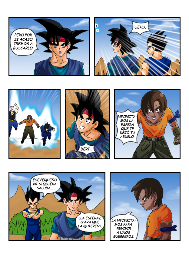 dragon ball z fan manga (nuevo)