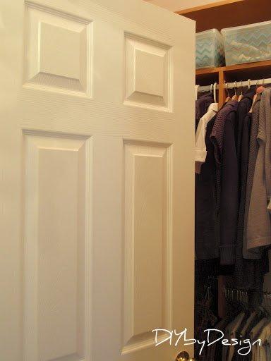 Diy by design no more closet doors for Door 4 montpellier walk