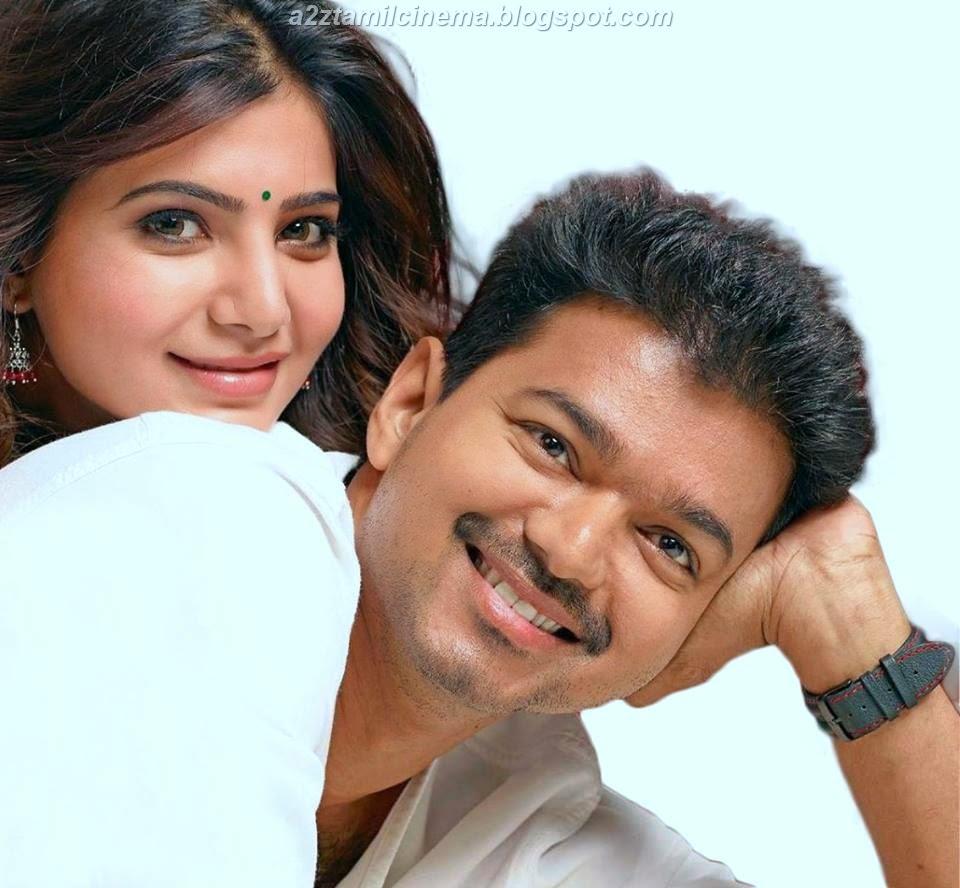 Kaththi Vijay Samantha Hd Wallpapers Tamil Movie Stills