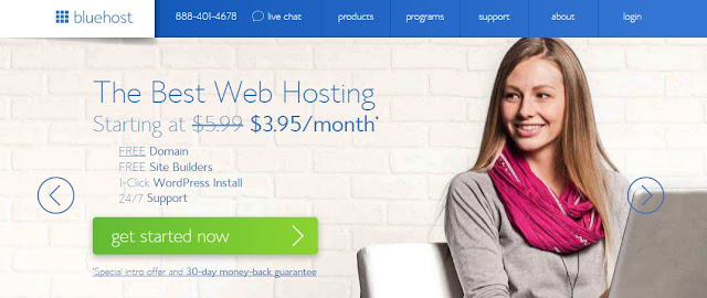 Bluehost.com Domains Hosting Black Friday - Cyber Monday Deals and Coupons